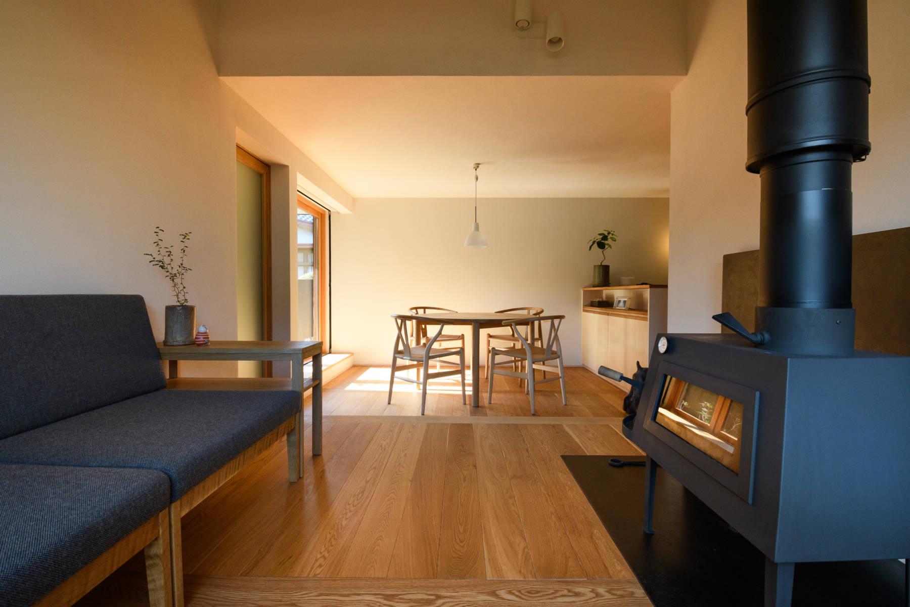 南区の離れ 狭小住宅で自然素材の家